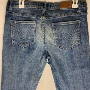 Vigoss Size 9 Women's Jeans 32×30 Medium Wash (D5)
